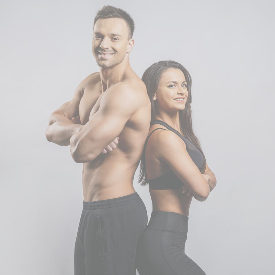 Body contouring fit couple
